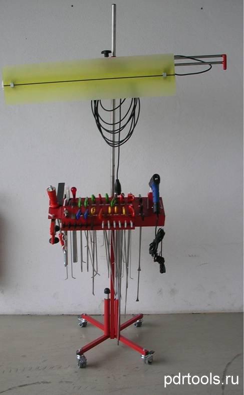 Лампа для ремонта, рихтовки вмятин - Ремонт вмятин без покраски. Обучение ремонту, удалению, устранению и рихтовке вмятин без по