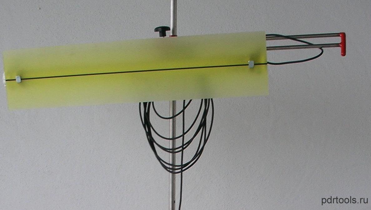 Как сделать лампу для рихтовки